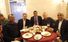 MEP visits KUTGS  4th May 2012
